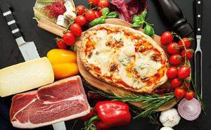 Pinsa römische Pizza mit Artischocken